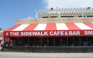 Venice Beach sidewalk cafe